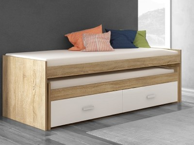 Trundle Bed with Drawers – Rimini