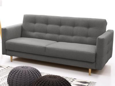 Диван-кровать в скандинавском стиле - Karlstad. Серый цвет