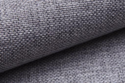 Tela sintética de color gris claro. Muna 08. Sofá modelo Padua
