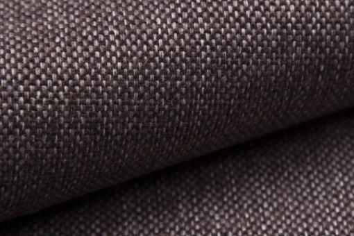 Tela sintética de color marrón oscuro. Muna 05. Sofá modelo Padua