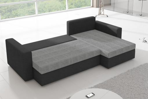 Sofa Unfolded into Bed (125 x 195 cm) - Derby