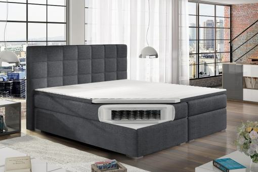 Colchón con muelles tipo bonell de cama doble 160 x 200 cm modelo Isabella