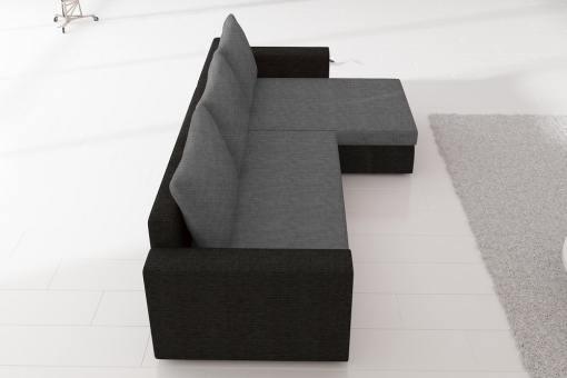 Reposabrazo (vista lateral) del del sofá chaiselong modelo Derby
