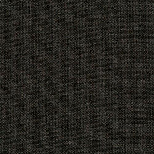 Тёмно-коричневая ткань компактного углового дивана-кровати York