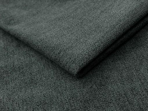 Grey soft to touch fabric Alfa 19 of the Toronto U-shaped sofa