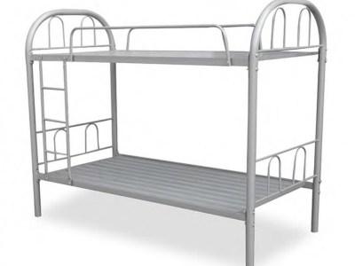 Двухъярусная металлическая кровать 90 x 190 см - Bergamo