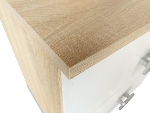 Top Surface with Finish Details of the Rimini Bedside Table