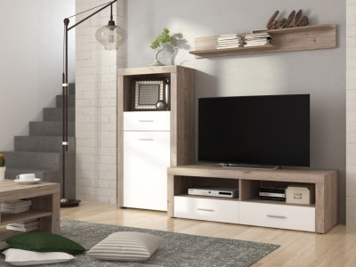 Furniture Combination for Small Living Room, 201 cm - Prato 5
