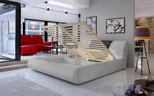 Реечная база и отделение для хранения большой двуспальной кровати 180 x 200 - Charlotte