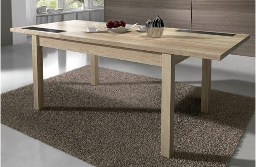 Table Extended to 180 cm. Dining Table 140-180 x 90 cm - Catania