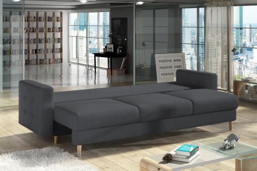 Modo cama. Sofá cama 3 plazas modelo Copenhagen
