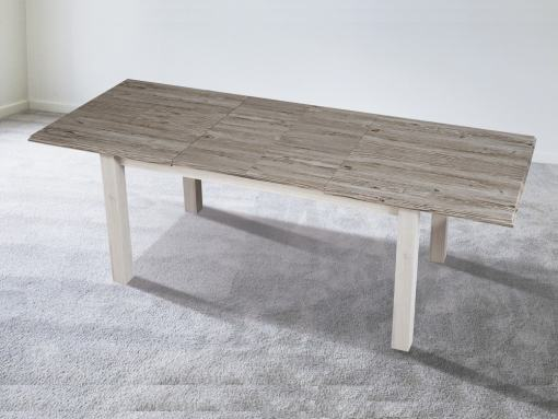 Large Extendable Dining Table, Three Modes: 90 x 160, 90 x 197, 90 x 234 cm - Vic