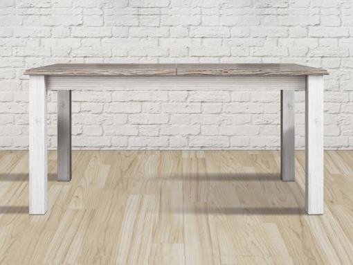 Closed Position. Spacious Extendable Dining Table, Three Opening Modes - Vic