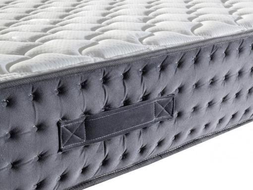 Asas laterales para mover el colchón fácilmente. Modelo Silenso