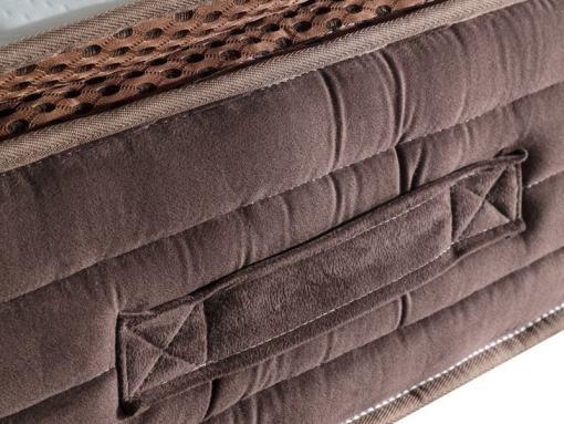 Asas laterales para mover el colchón. Modelo Top