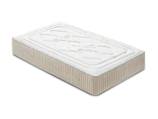 Single Memory Foam Mattress with High Resiliency Foam Core, 90 x 190 cm - Viscoalto