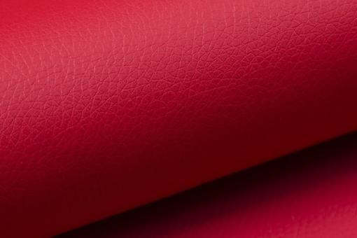 Piel sintética de color rojo del sofá modelo Kingston