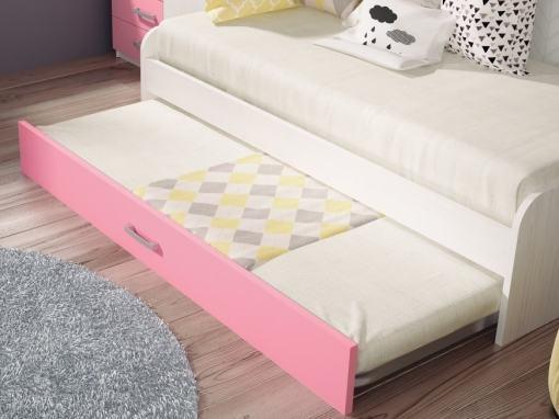 Cama inferior abierta de la cama nido juvenil modelo Luddo