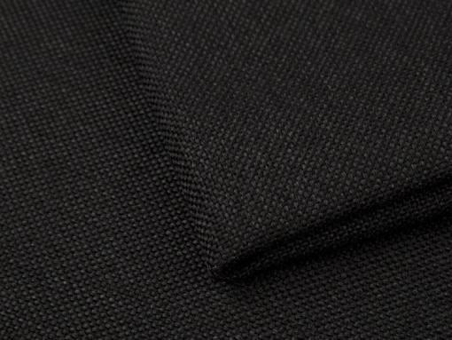 Black fabric of the Barbados sofa