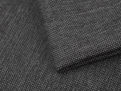Dark grey durable synthetic fabric of the Maldives sofa