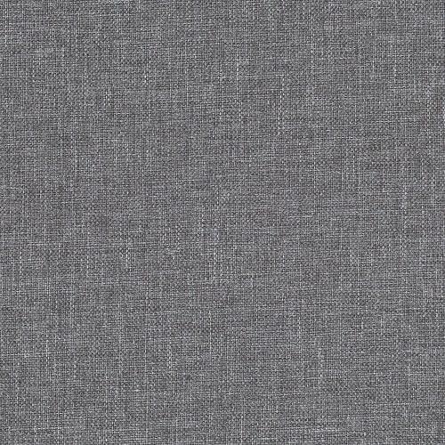 Light grey fabric of the small chaise longue sofa York