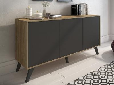 Modern Sideboard with Inclined Legs, 153 cm - Lucca