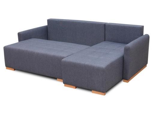 Arcón. Sofá chaise longue (derecho) cama modelo Corsica