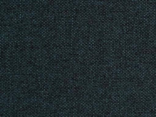Tela color azul oscuro. Conjunto de 2 sillones y un sofá cama con patas de madera y arcón - Monaco