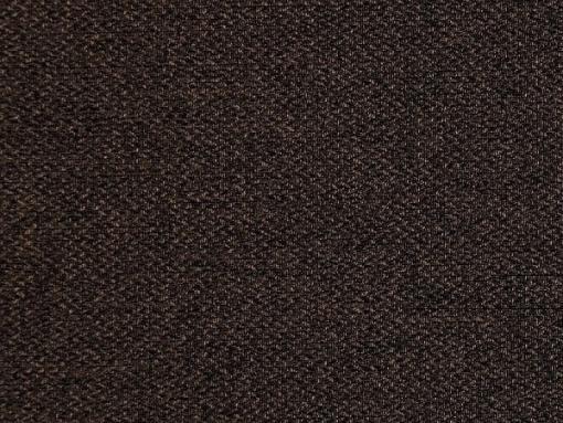 Tela color marrón oscuro. Conjunto de 2 sillones y un sofá cama con patas de madera y arcón - Monaco