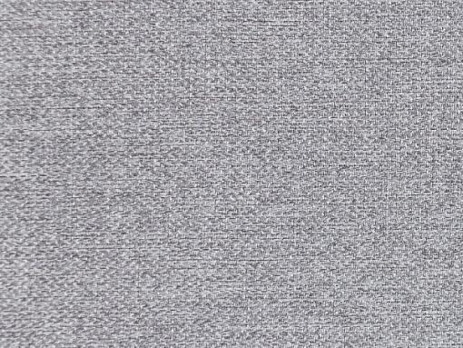 Tela gris claro. Sofá cama grande estilo clásico con arcón modelo Lancaster