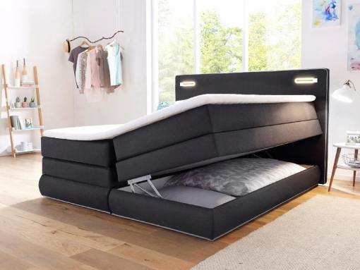 Storage compartment of the Martina bed