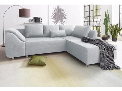 Sofá rinconera cama color gris claro - Toulouse