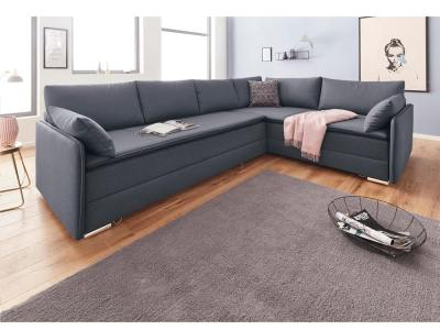 Corner sofa with super king size bed 180 x 200 cm - Atlanta