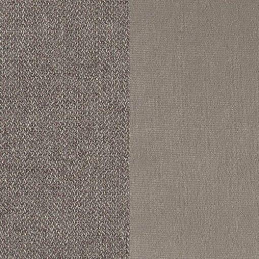Two tones of light brown fabric of the Angelina bed