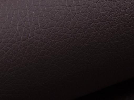 Коричневая искусственная кожа углового дивана Albi