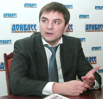 мэр Горловки Евгений Клеп