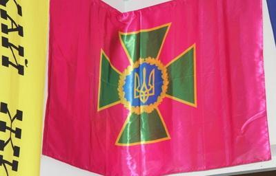 В Мариуполе представили выставку украинских флагов разных эпох