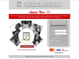 Bingham University Post UTME