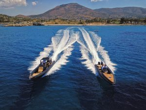 Private boat rental in Mykonos island at the best price - Don Blue Yachting