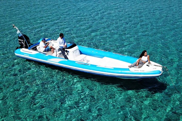 Mykonos Private Boat for rent - Don Blue Yachting - Pelias Marvel