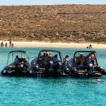 Mykonos Private Boat for rent - Don Blue Yachting - 3 hour private cruise