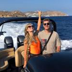 Celebrities Love Mykonos and Don Blue Yachting!