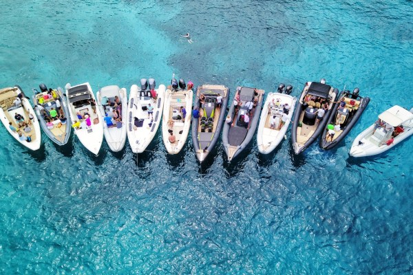 Events on private rib boat - Don Blue Yachting