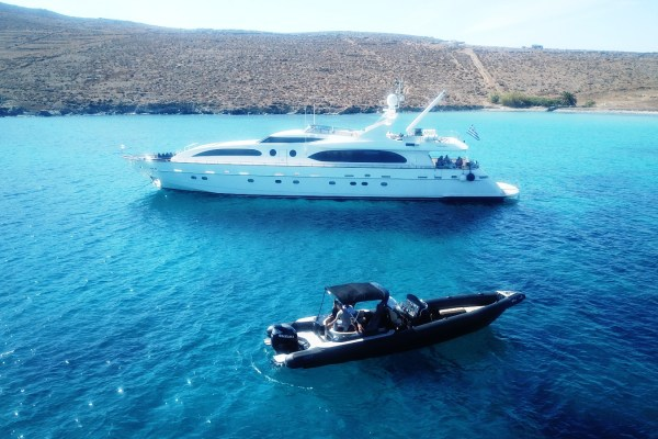 Mykonos Tender Services - Don Blue Private Boat Rentals