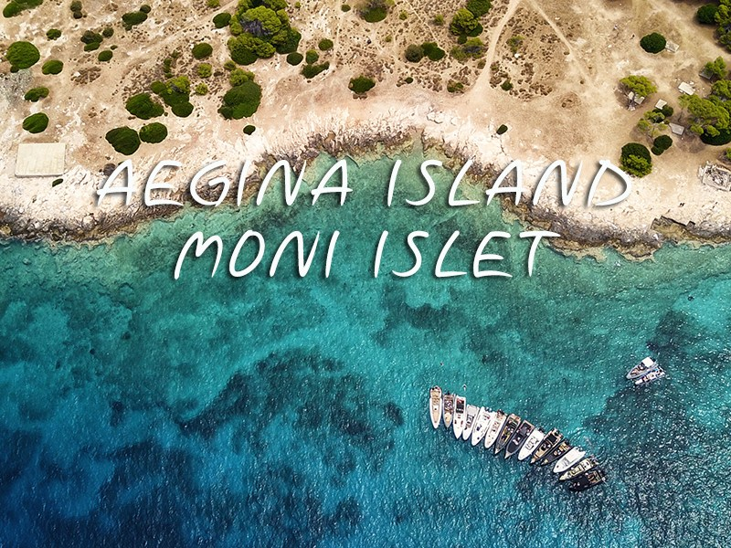 Athens - Aegina island - Moni islet - Private day cruise | Don Blue RIB boat rental