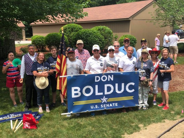 Concord Monitor – Letter: Bolduc has my vote for U.S. Senate