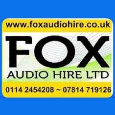 Fox Audio Hire Logo