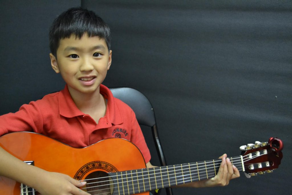 Classical Guitar Student