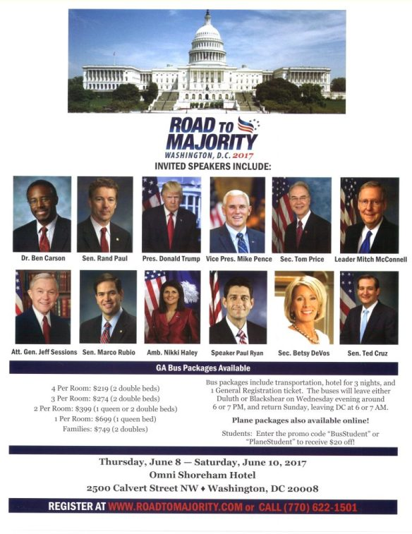 Image of invited speakers to Road to Majority Conference