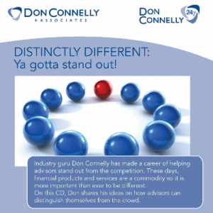 Distinctly Different - Ya Gotta Stand Out CD